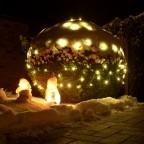 Winterimpressionen, Lichterketten