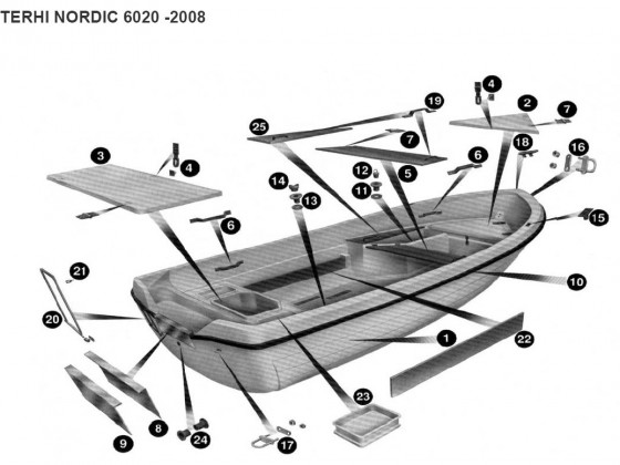 Ersatzteile Terhi Nordic 6020 -2008