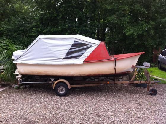 Eine kleine Bootstour in DK mit einem Freund...:-)